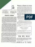El Faro - Oposición y gobierno