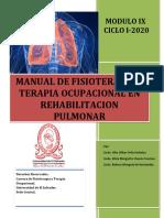 Manual de Fisioterapia y Terapia Ocupacional en Rehabilitacion Pulmonar