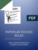 Popular Success Rules