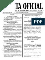 Gaceta Oficial N°42.145