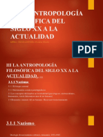 III Siglo XX a Actualidad