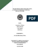 ISPA pada Bayi dan BAlita - Cross Sectional Study