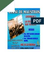1 Clase de Maestros