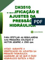 JD 3520-3522 -Regulagem das Pressões de Alívio