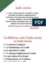 L'Audit Externe