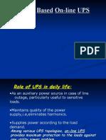 DSP Based Online UPS Sreevidhya@Students