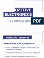 Dispozitive electronice