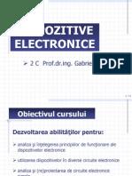 Dispozitive electronice