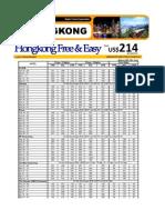 Hongkong Package