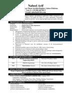 Distribution engineer resume
