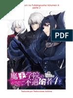 Maou Gakuin No Futekigousha Volumen 4 Parte 2
