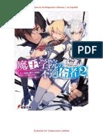 Maou Gakuin No Futekigousha Volumen 2