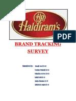 HALDIRAM brand tracking