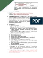 MODELO DE POP - Procedimentos Operacionais Padrão