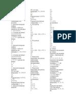 listas de expresiones en lenguaje
