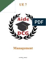 UE 7 - Management