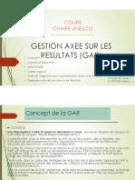 Cours Chaire UNESCO_GESTION AXEE SUR LES RESULTATS (GAR)_revu_PDF