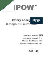 Manual Vipow BAT1140