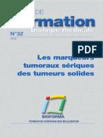 2005-Bioforma-32-Les Marqueurs Tumoraux Sériques Des Tumeurs Solides
