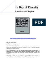 Rabbi Aryeh Kaplan - Sabbath Day of Eternity