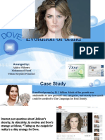 DOVE Evolution of Brand