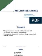 4. ATROPHIE MULTISYSTEMATISEE