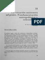 Hernando M. J.-la Vocación Misionera Ad Gentes Fundamentación