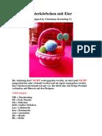 Osterkörbchen mit Eier