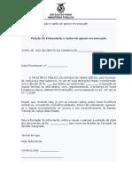 Petição de interposição e razões de agravo em execução