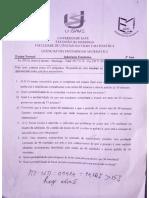 Exame _ Inferência E. 2019