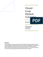 Closed Loop Flyback Converter