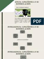 Inteligencia linguística y su estimulación - Isaac Castillo