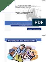 LA GESTION DE LA PRODUCTION ET DES APPROVISIONNEMENTS