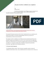 Cómo usar la tutela para resolver conflictos en conjuntos residenciales