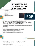 TREINAMENTO DE SOLDA BRASAGEM