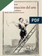 Gamboni, Dario -  La destruccion del arte