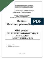 Mini projet_panneau pv