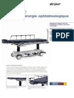 Eye Surgery Stretcher -1089- nexgen-french