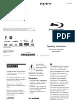 SonyBDP-BX37.Manual