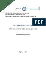 Extras_Metodologia Cercetarii in Stiintele Educatiei