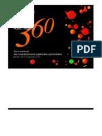 Baromètre Adex Report 360 - Janvier 2011