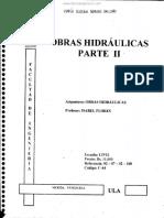 Obras Hidráulicas Parte II - Isabel Flores
