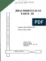 Obras Hidráulicas Parte III- Isabel Flores