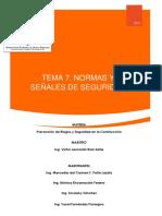 Tema 7. Normas y Señales de Seguridad