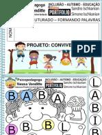 1 Caderno Formando Palavras Com as Letras Do Alfabeto Neusa Venditte 1a