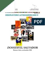 Observatorio Latinoamericano N 9 Dossier