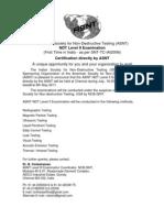 ASNT level II 2011