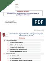 Disolution Et Liquidation OEC Issam EL Maguiri