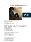 5 exercícios práticos de análise sintática