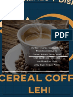 Proyecto Coffe Cereal LEHI